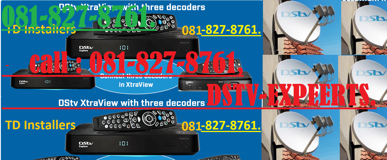 DSTV 24/7 MULTICHOICE ACCREDITED INSTALLERS