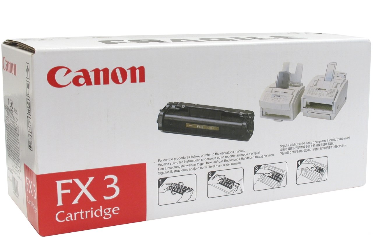 Canon FX3 Black Toner