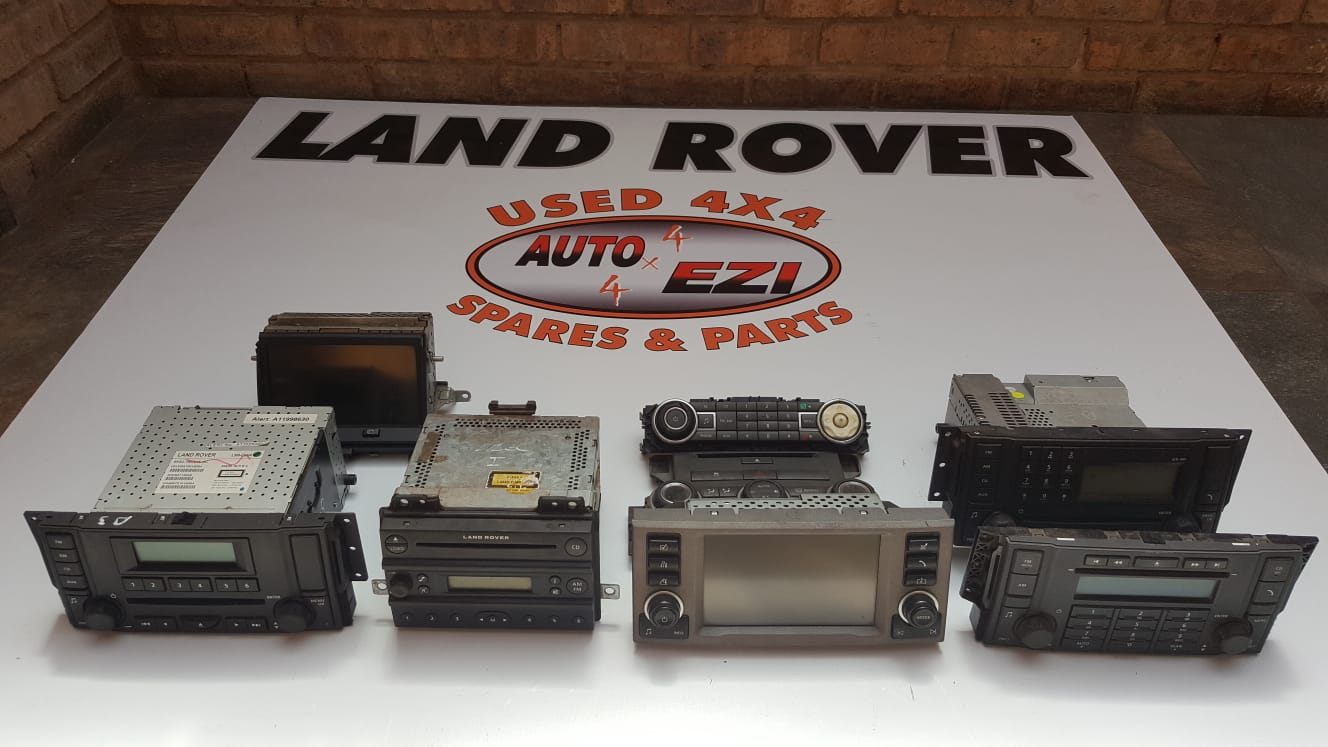 Land Rover Discovery 2/3/4 TDV6/8 GPS MONITORS