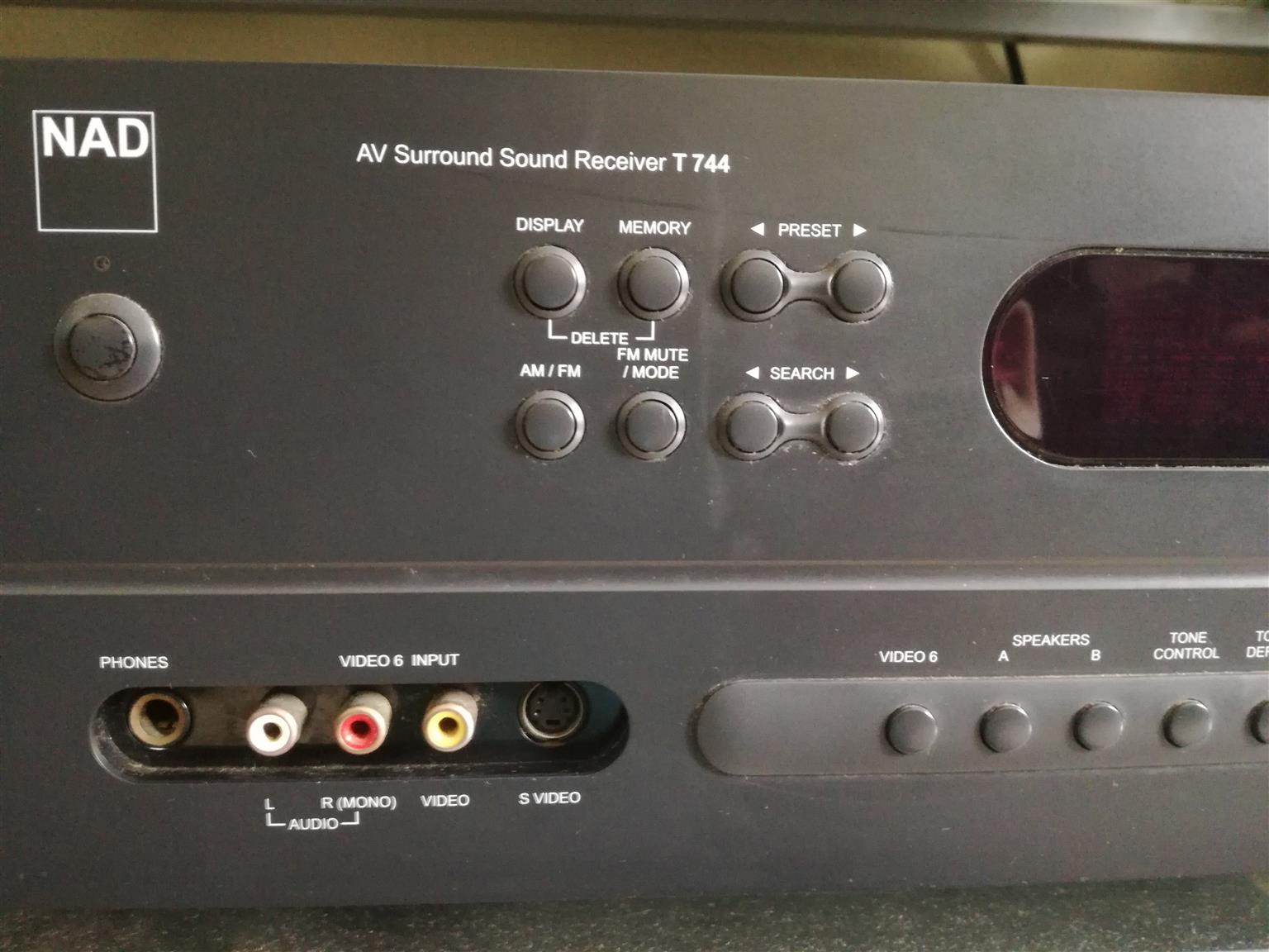 NAD   AV Surround Sound Receiver T 744
