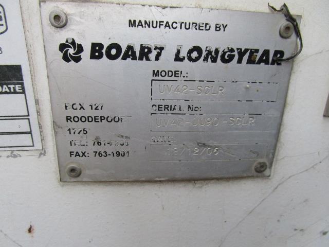 Boart Longyear UV42-SCLR Rock Breaker/Scaler - ON AUCTION
