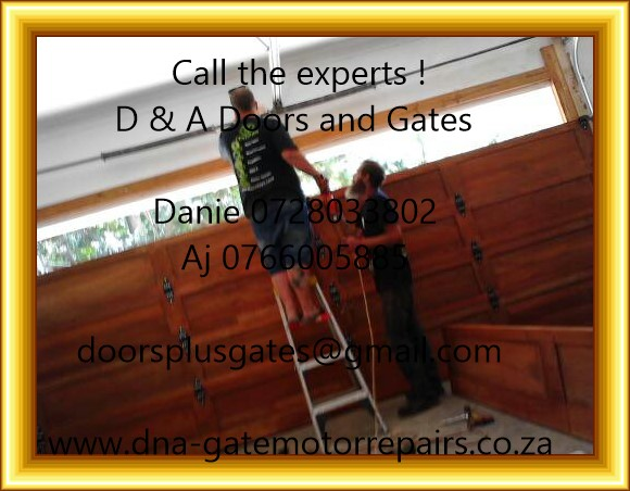 SASOLBURG , Garage door and Gate motor Service & Repairs 0766005885 CALL NOW