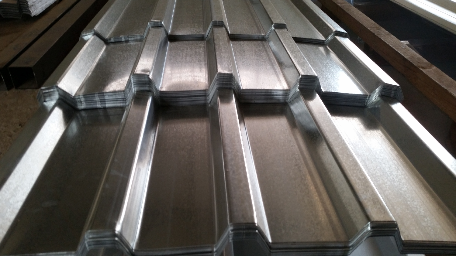 Roofing ibr corrugated sheets