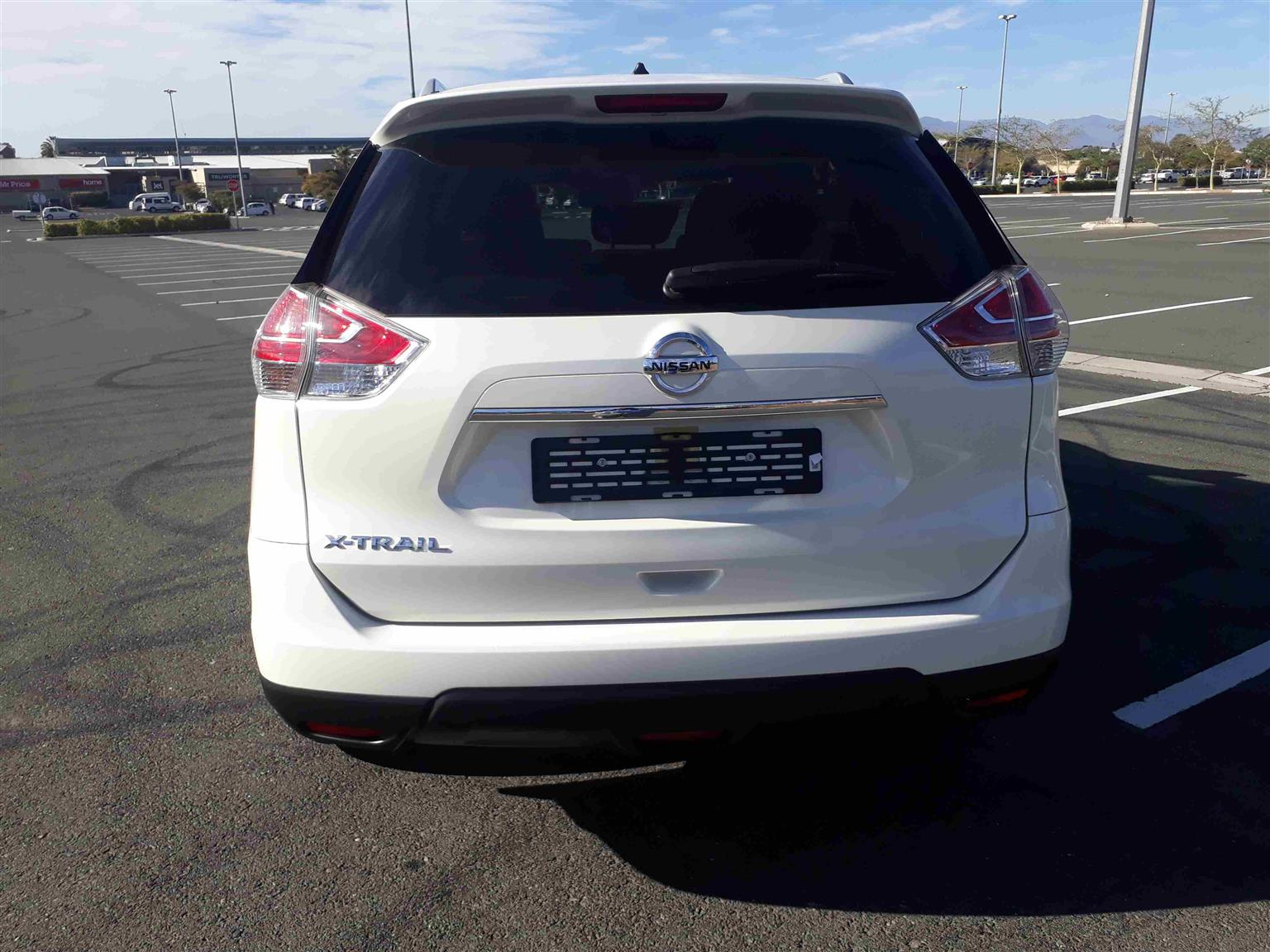 2016 Nissan X-Trail 2.5 4x4 SE CVT