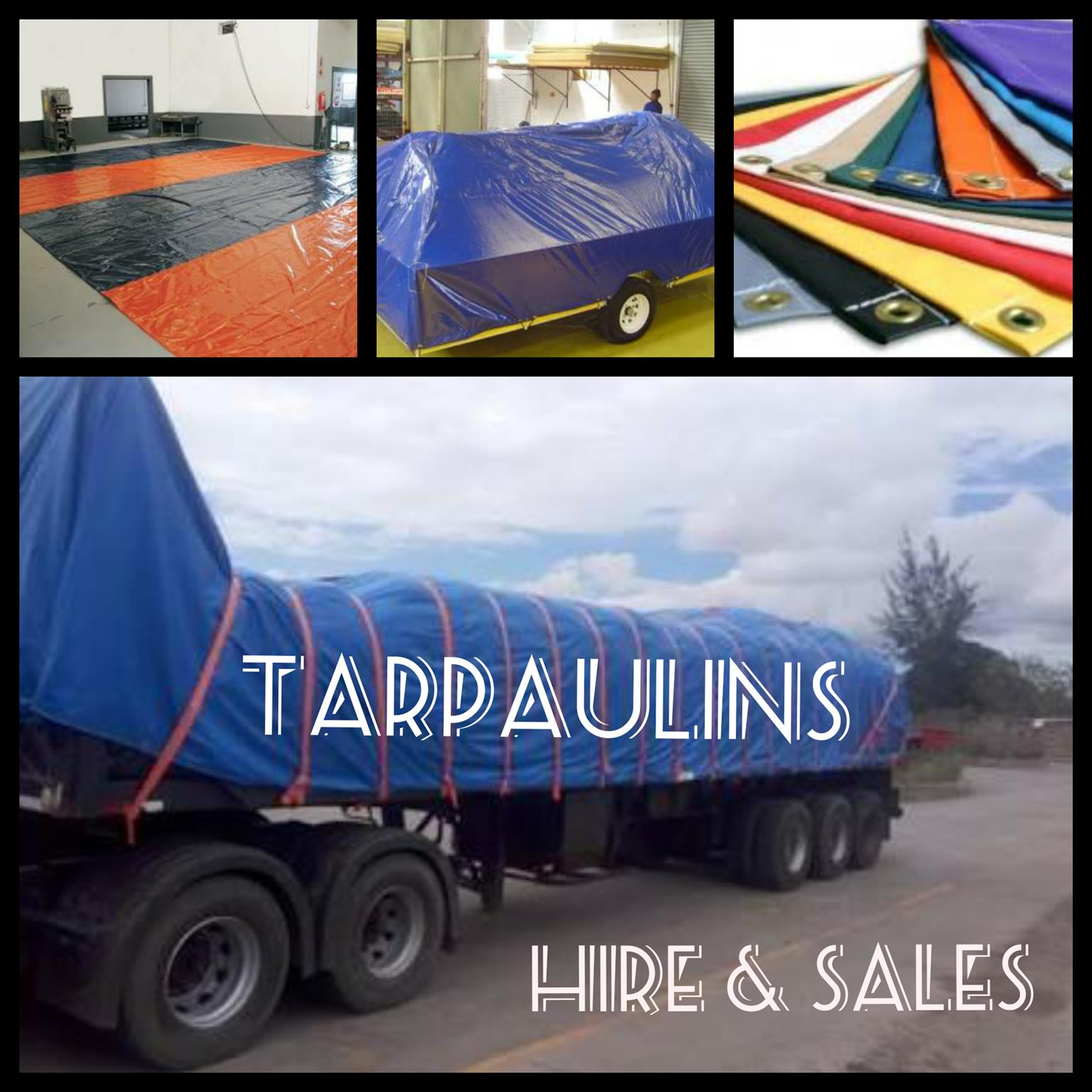 TENTS - TARPS - JUMPING CASTLES