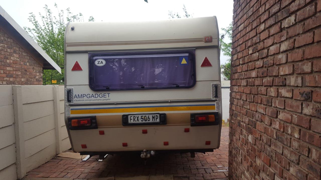 Sprite Sunway double axle Caravan 1986