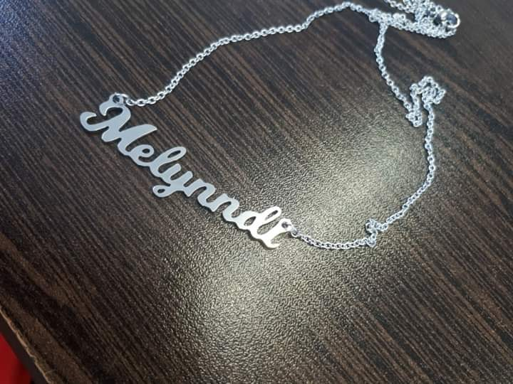 Stainless steel  Name Pendants