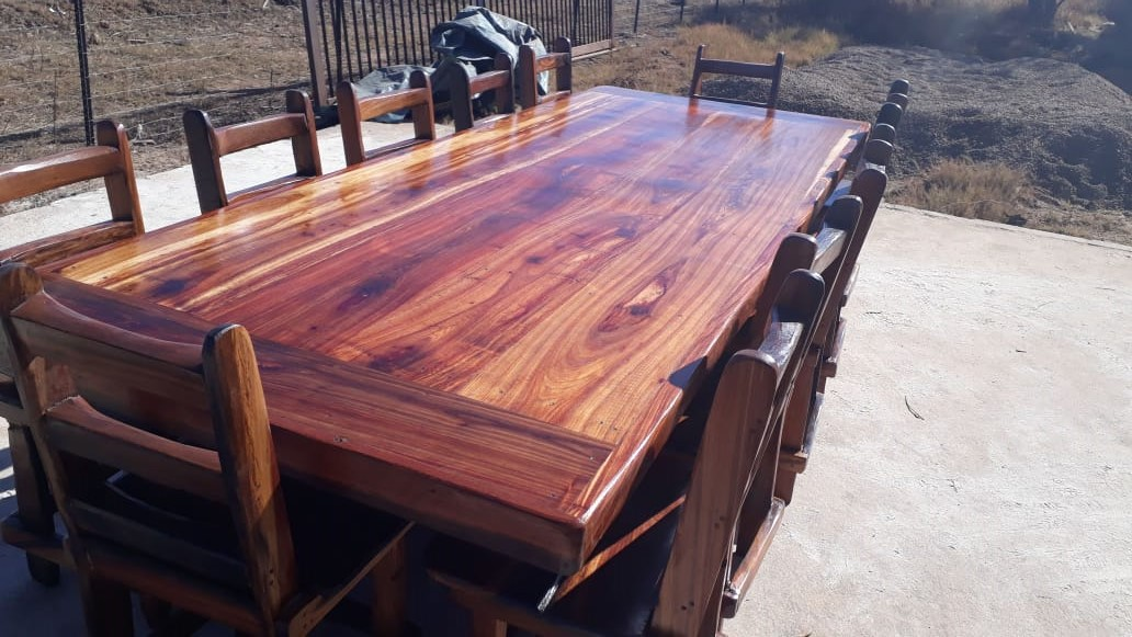 10 Seater dining room tables