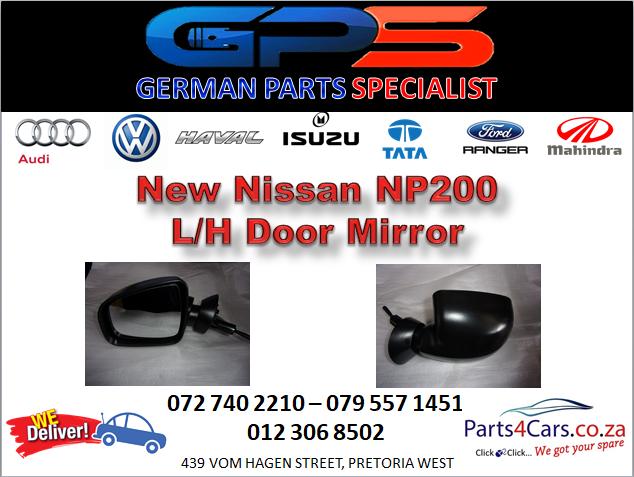 New Nissan NP200 L/H Door Mirror for Sale