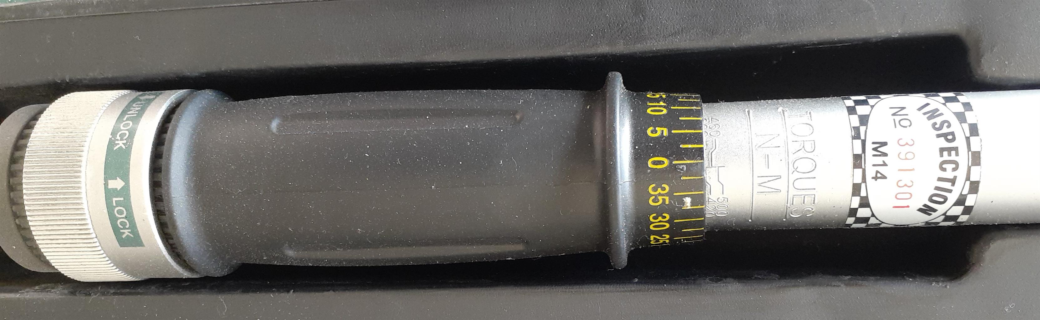 "Torque Wrench 3/4"" driver 100Nm - 500Nm Hardly Used"