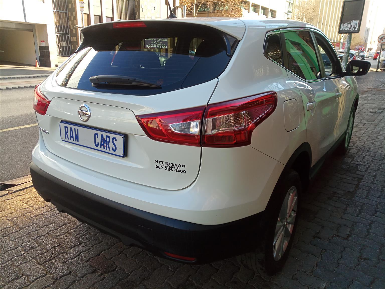 2015 Nissan Qashqai 1.6 Visia