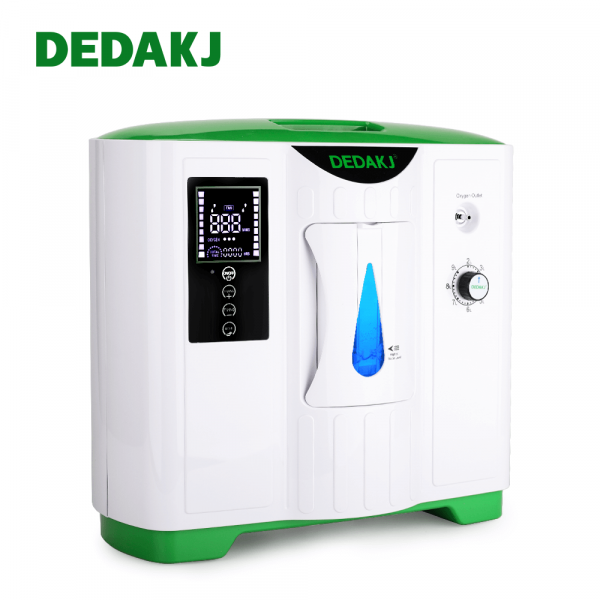 OXIGEN MACHINE O2 Concentrater Oxygen supply and humidifier DEDAKJ 1-7L/min Flow