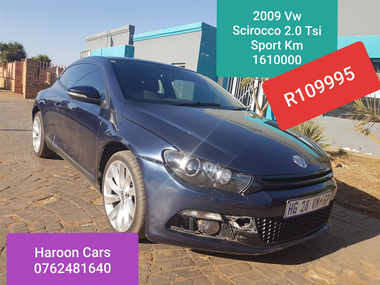 2009 VW Scirocco 2.0TSI Highline