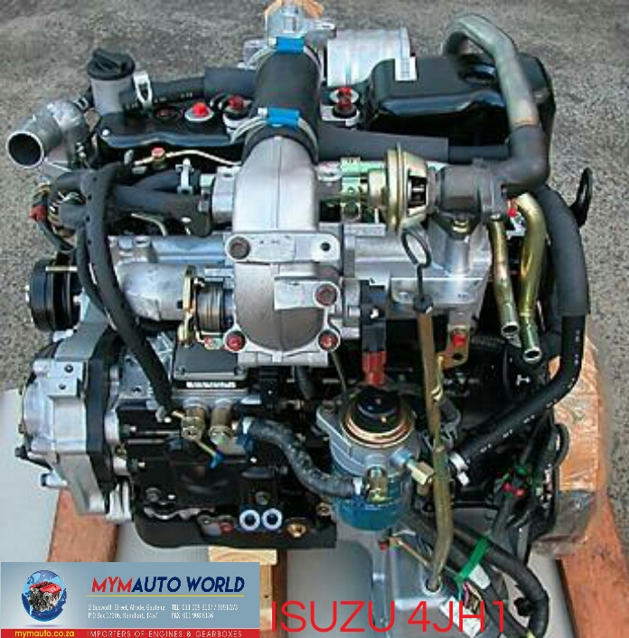 Imported used ISUZU D-MAX 3.0L DITD, 4JH1 engine Complete