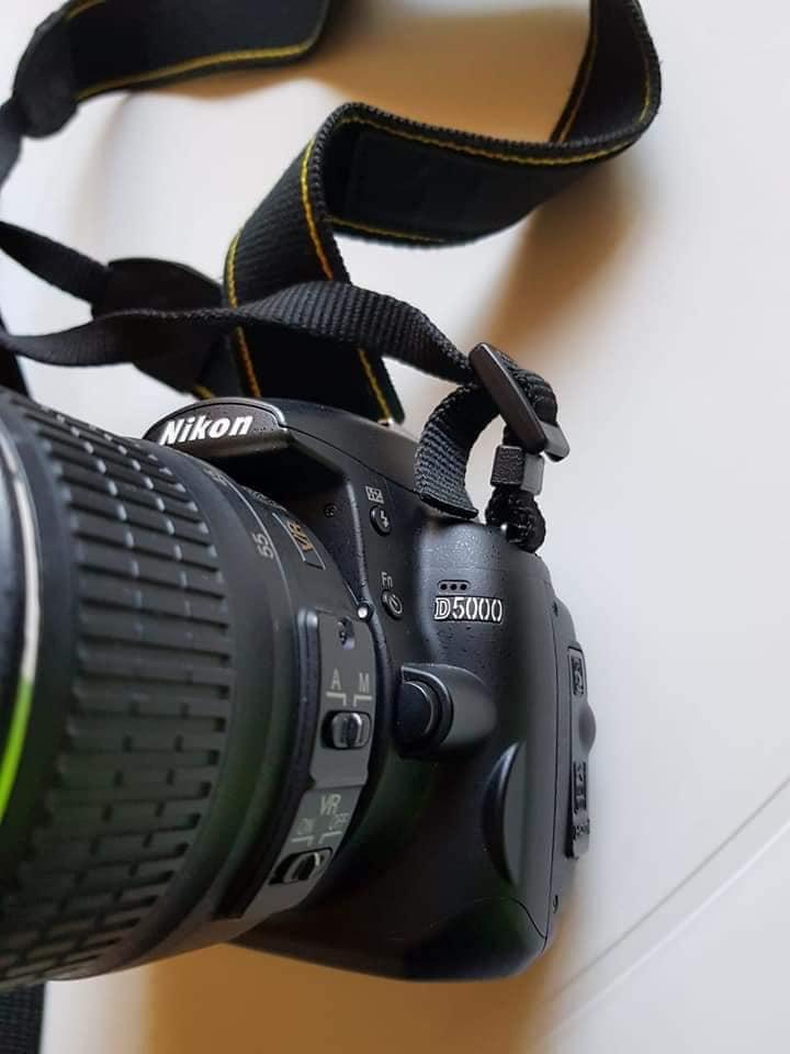 Nikon D5000 camera.