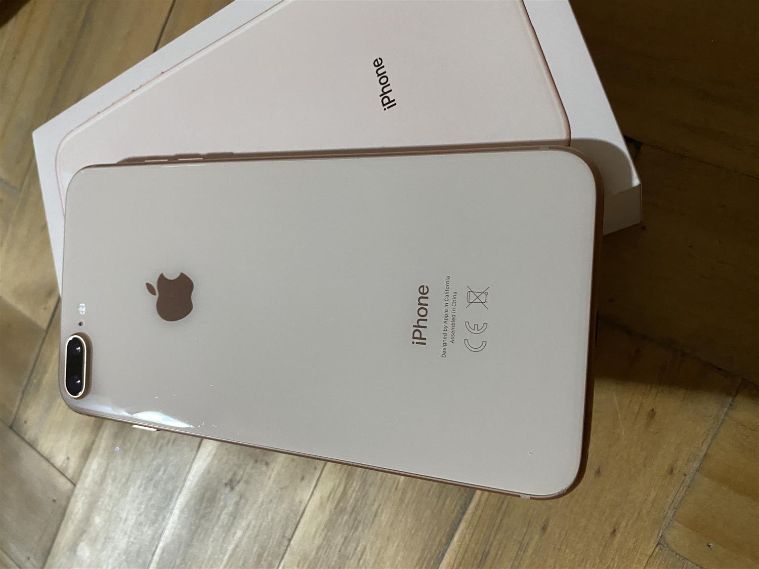 iPhone 8 plus 256 gig