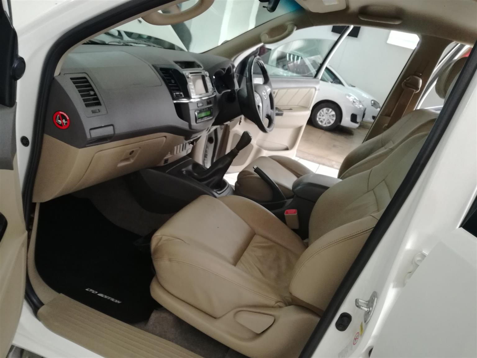 2014 Toyota Fortuner 3.0D4D LTD Edition Mechanically perfect