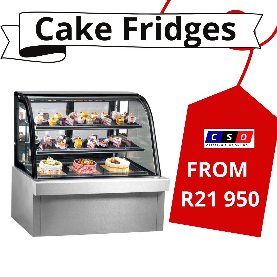 Cake Fridge Curved 1.2m