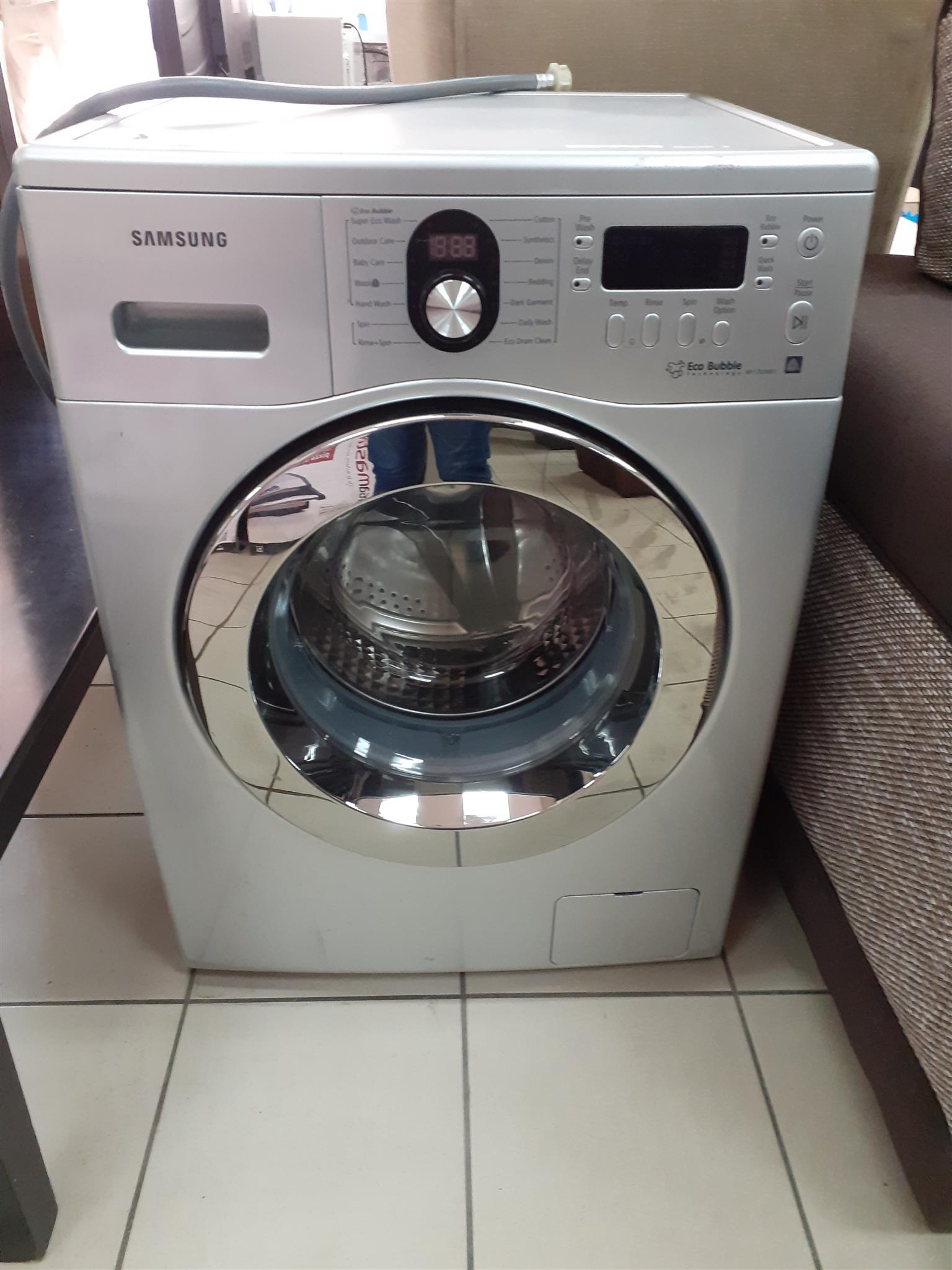 Samsung Washing Machine Front Loader.