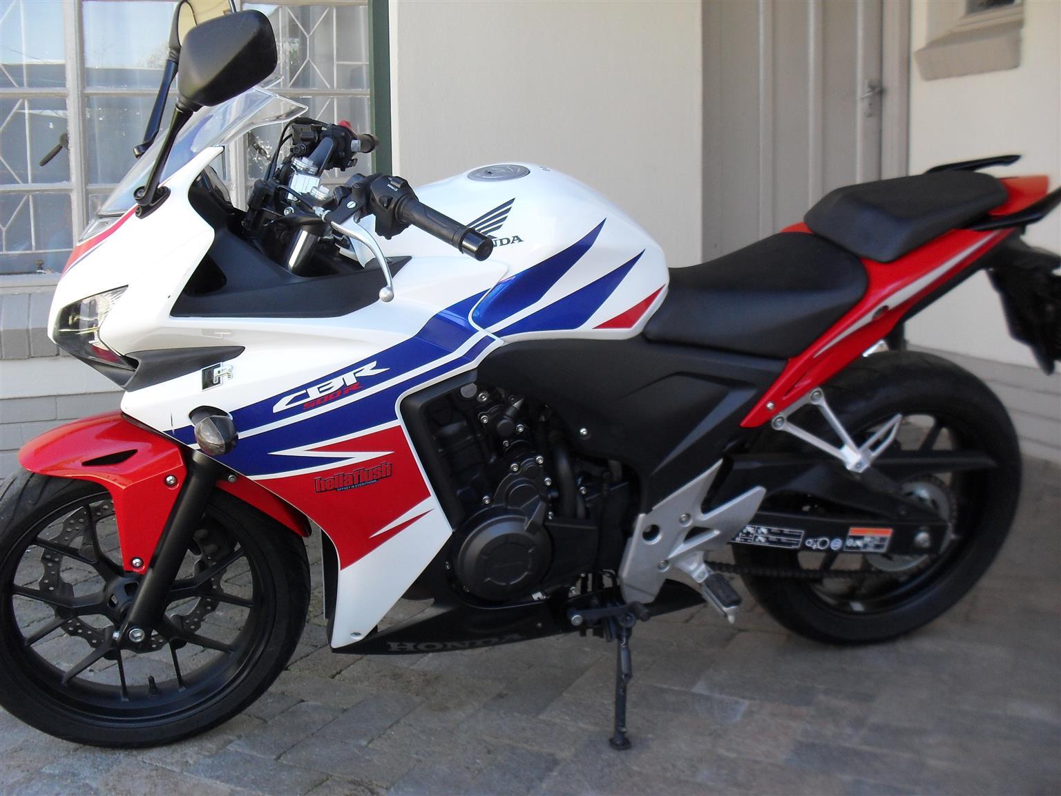 2014 Honda CBR | Junk Mail
