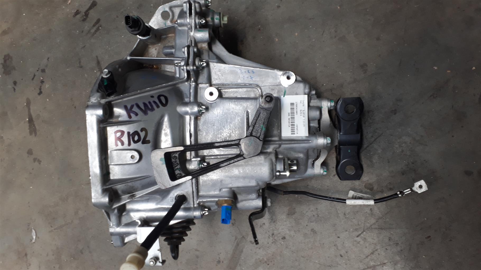 Renault Kwid Gearbox