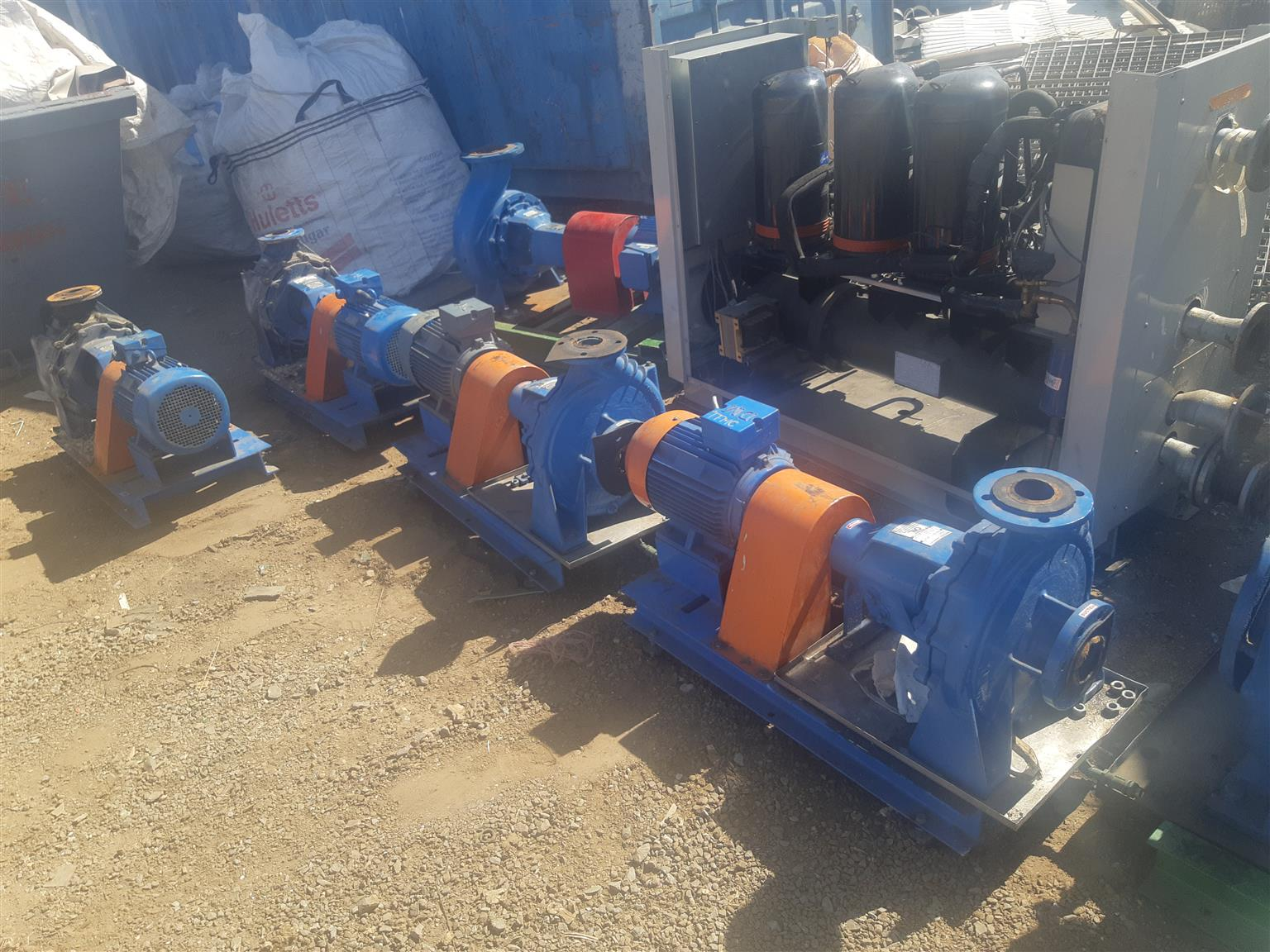 Plenty 3 phase water pumps for sale contact me now on