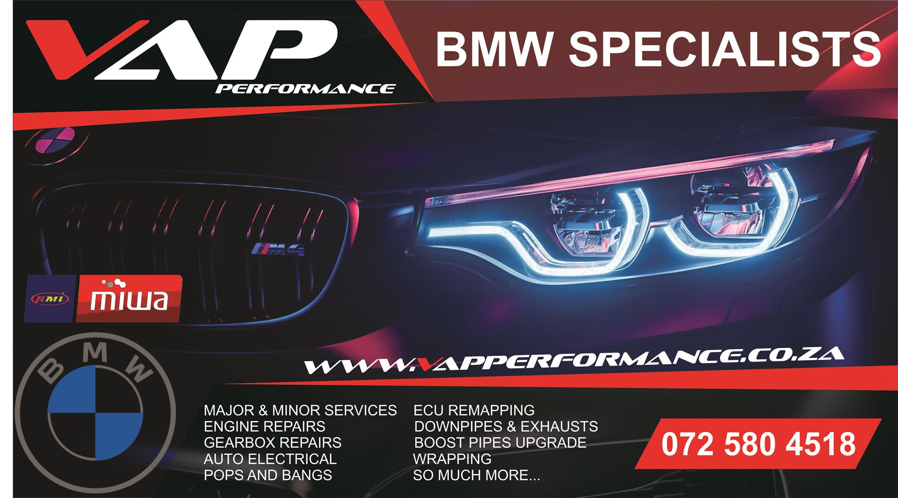 BMW Specialists workshop / Performance / ECU Remapping