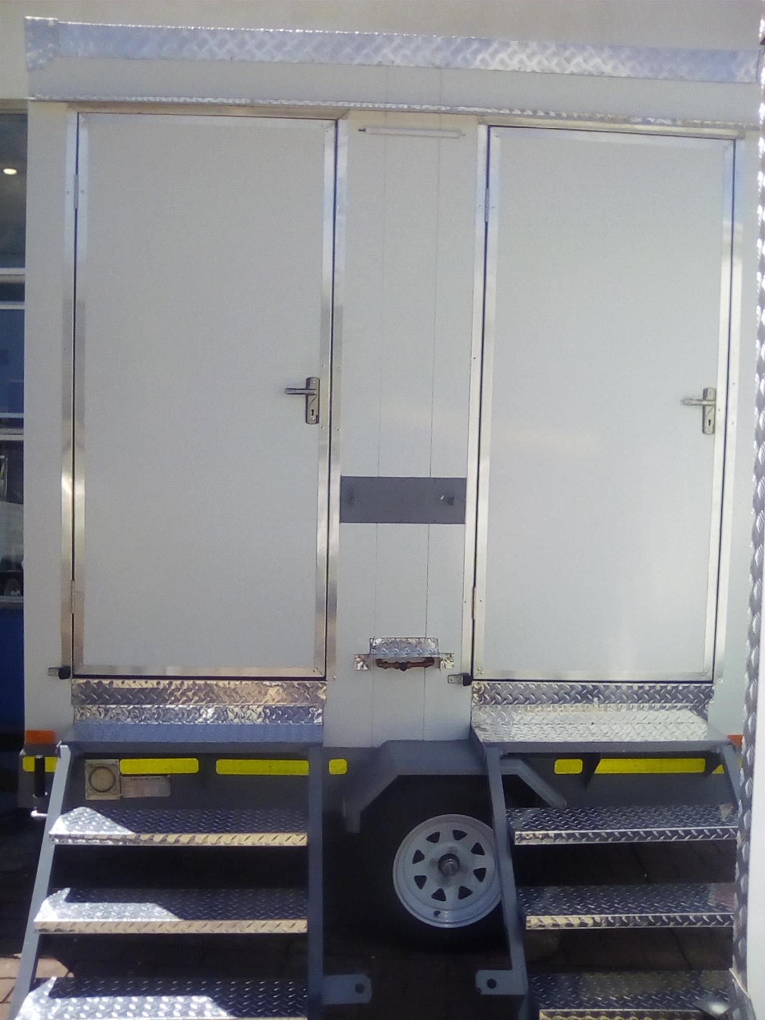 Mobile VIP toilets