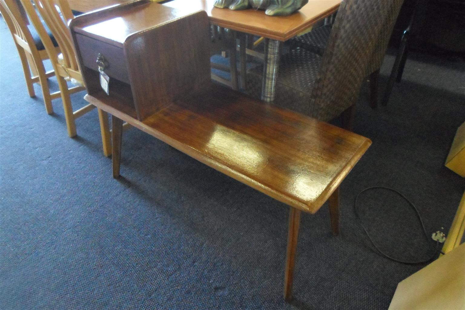 Wooden Telephone Table - B033037924-1