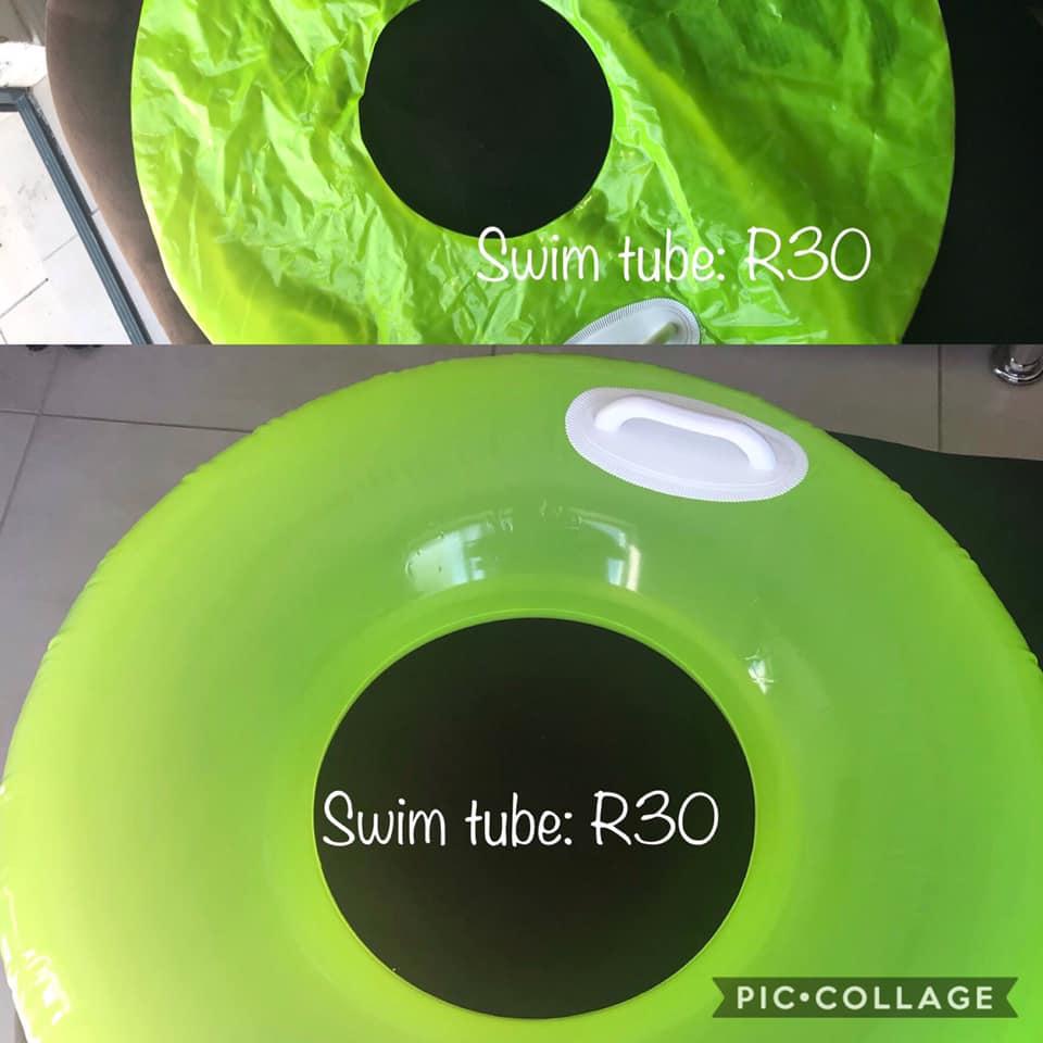 Green swim tube for sale