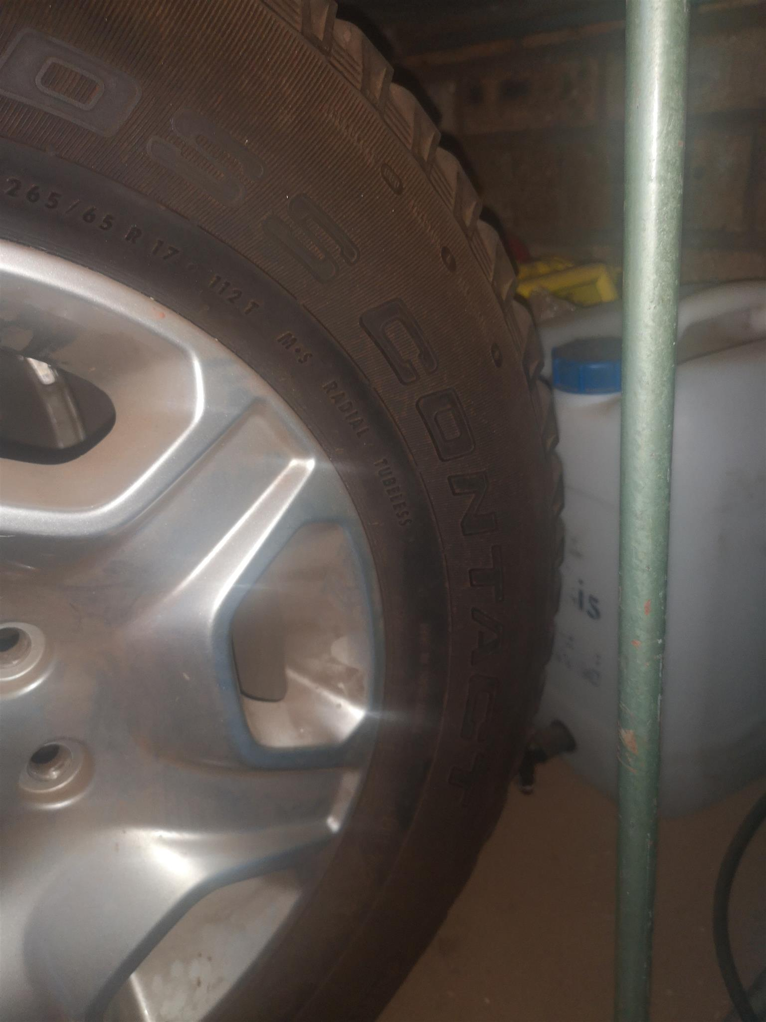 """17"""" Ford Ranger mags and tyres for sale"""