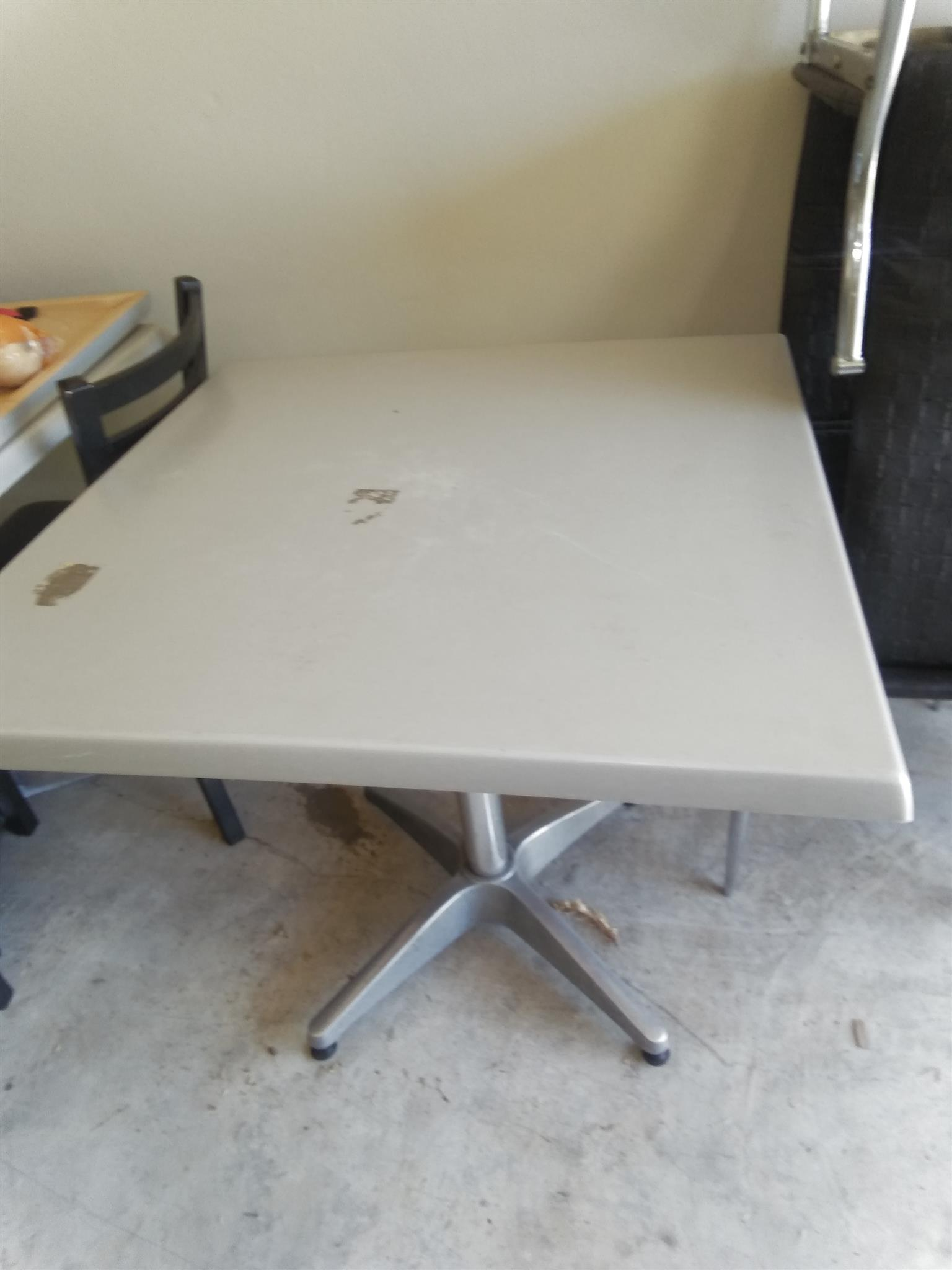 Tables and two chairs for sale
