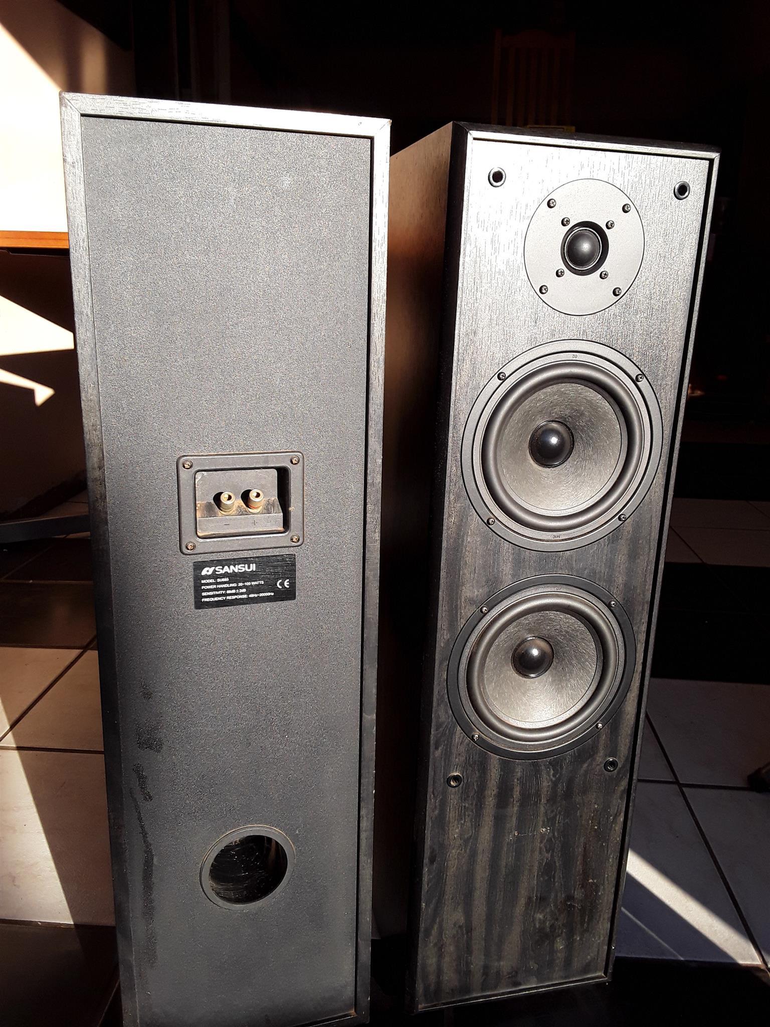 Sansui Floor Speakers