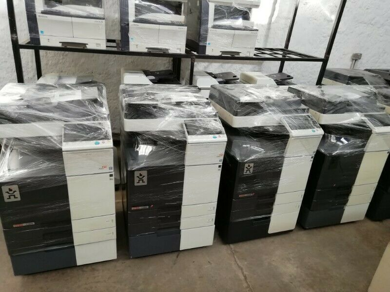 NEW & REFURBISHED KONICA MINOLTA BIZHUB COPIERS TO CLEAR | 24 MONTHS WARRANTY R 6,500