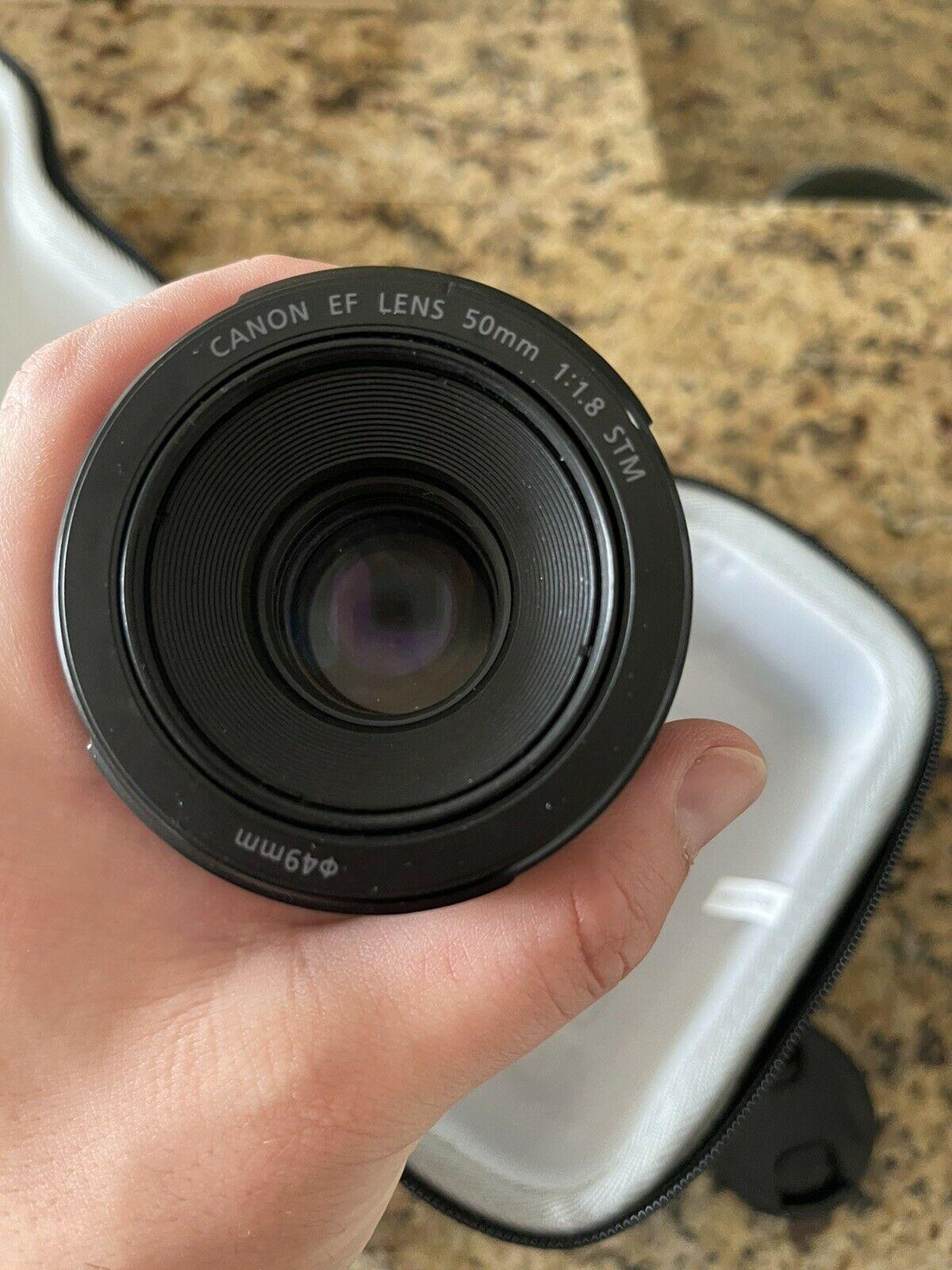 Canon EOS 5D Mark III Digital SLR Camera 50m Lens And Extras.