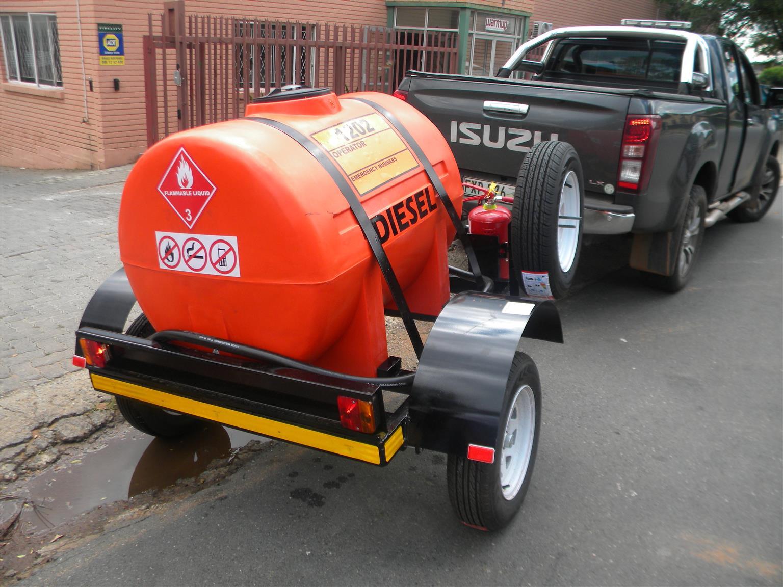 500 liters Tanker  Plastic