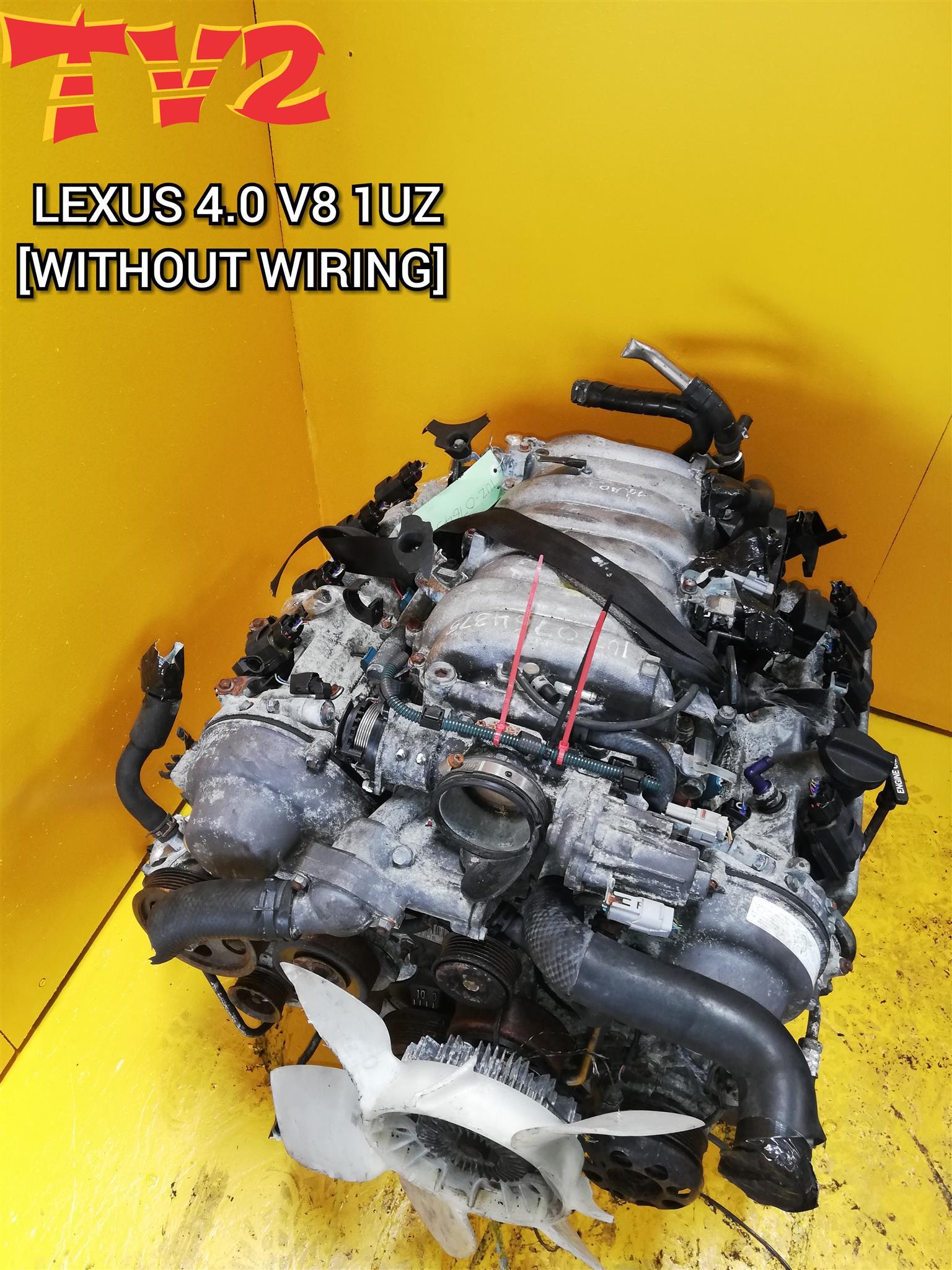 LEXUS 4.0 V8 1UZ VVTI ENGINE FOR SALE