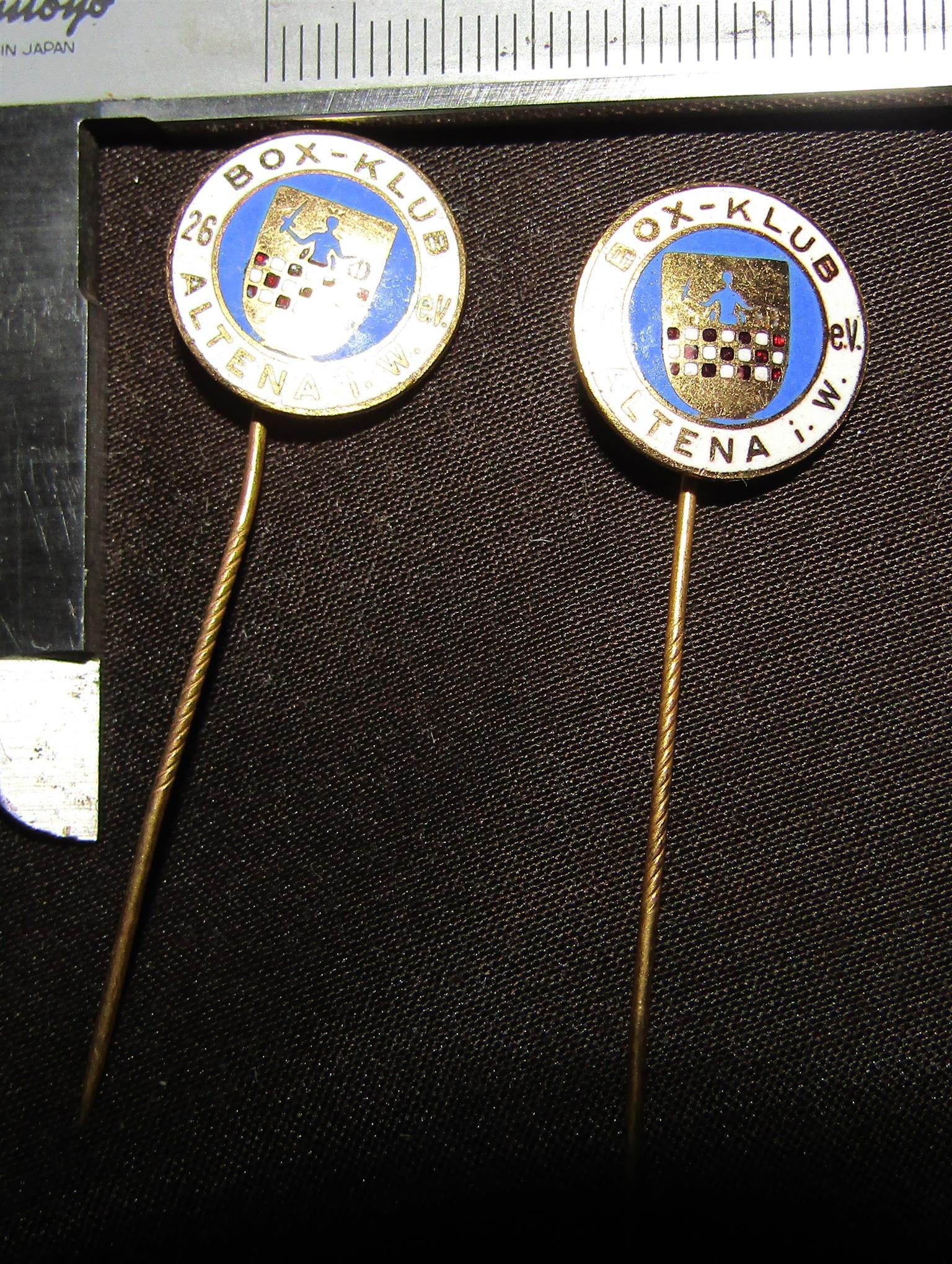 Lapel Pin - Box Klub Altena