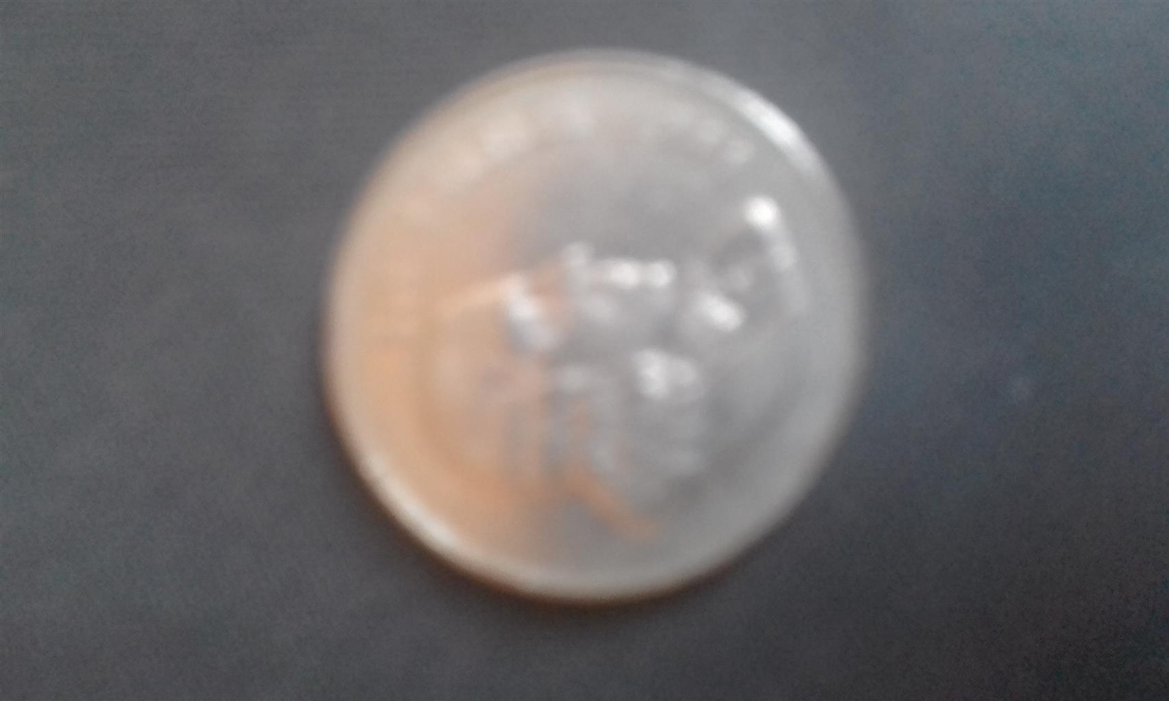 Rare 1966 SA 50 c coins