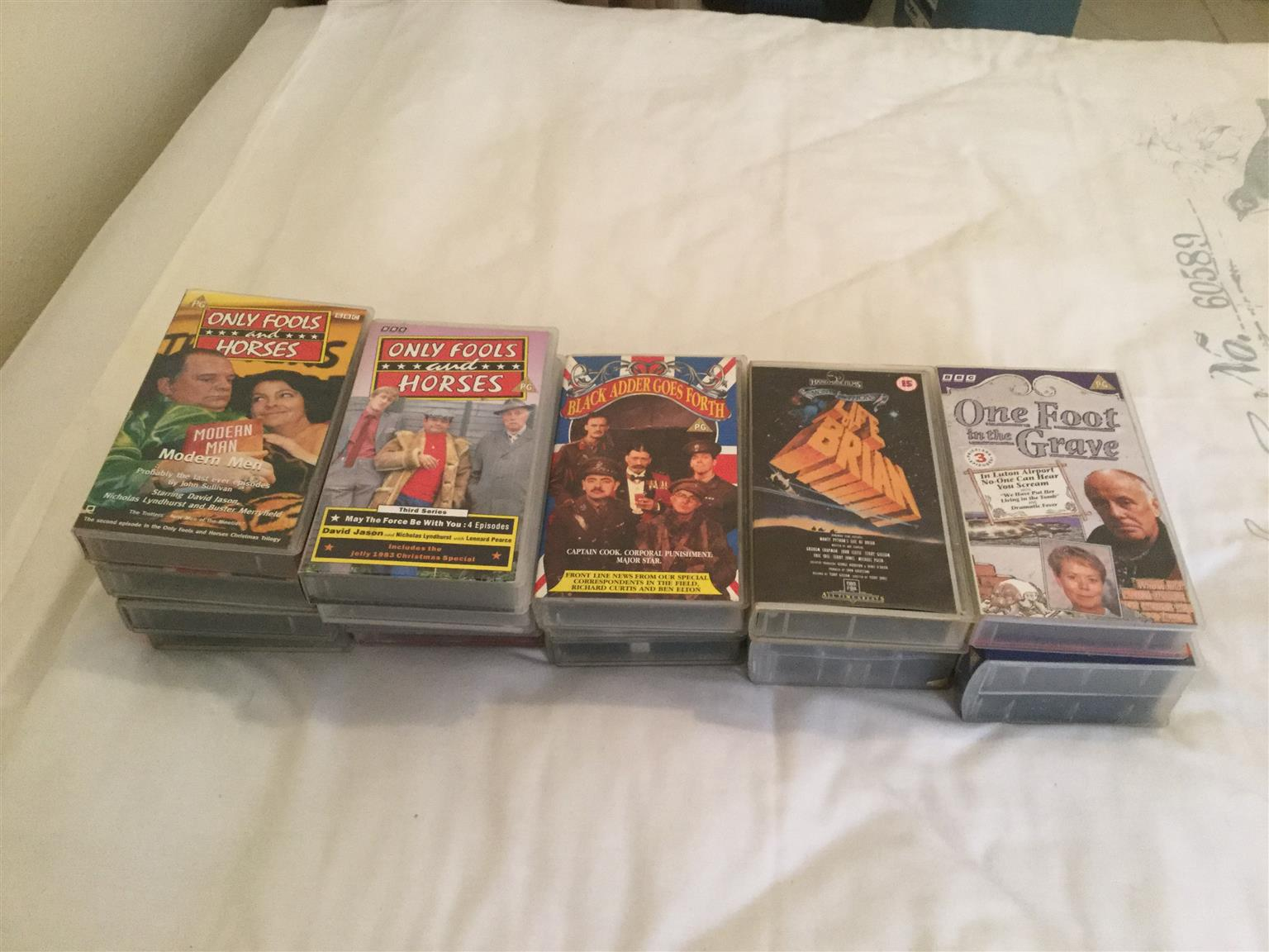 VHS Recorder and Comedy Videos