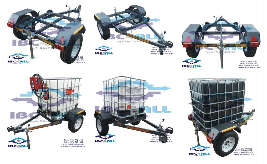 Trailer & Bowser / 1000 Litre Multi Purpose Water, Diesel, Waste Water, Fire Fighter unit