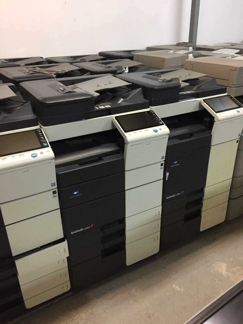 Konica Minolta Bizhub C224 A3/A4 colour multi-function printer/copier - Fully Refurbished