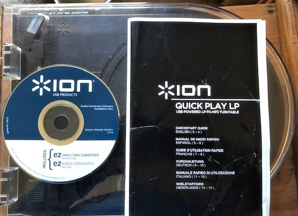 Convert vinyl to cd