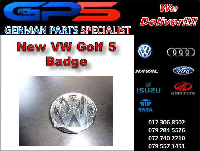New VW Golf 5 Badge for Sale