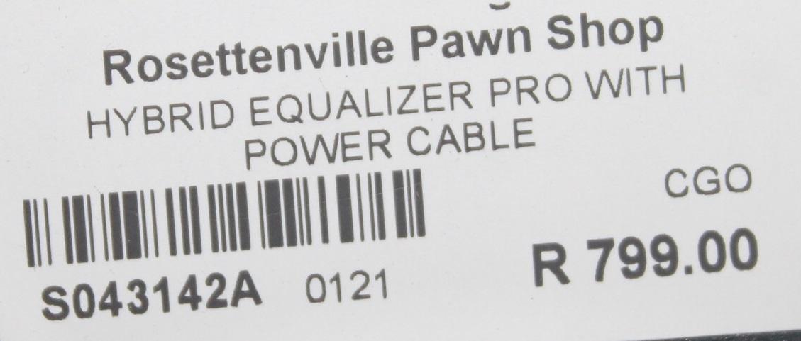 Hybrid equalizer pro S043142A #Rosettenvillepawnshop