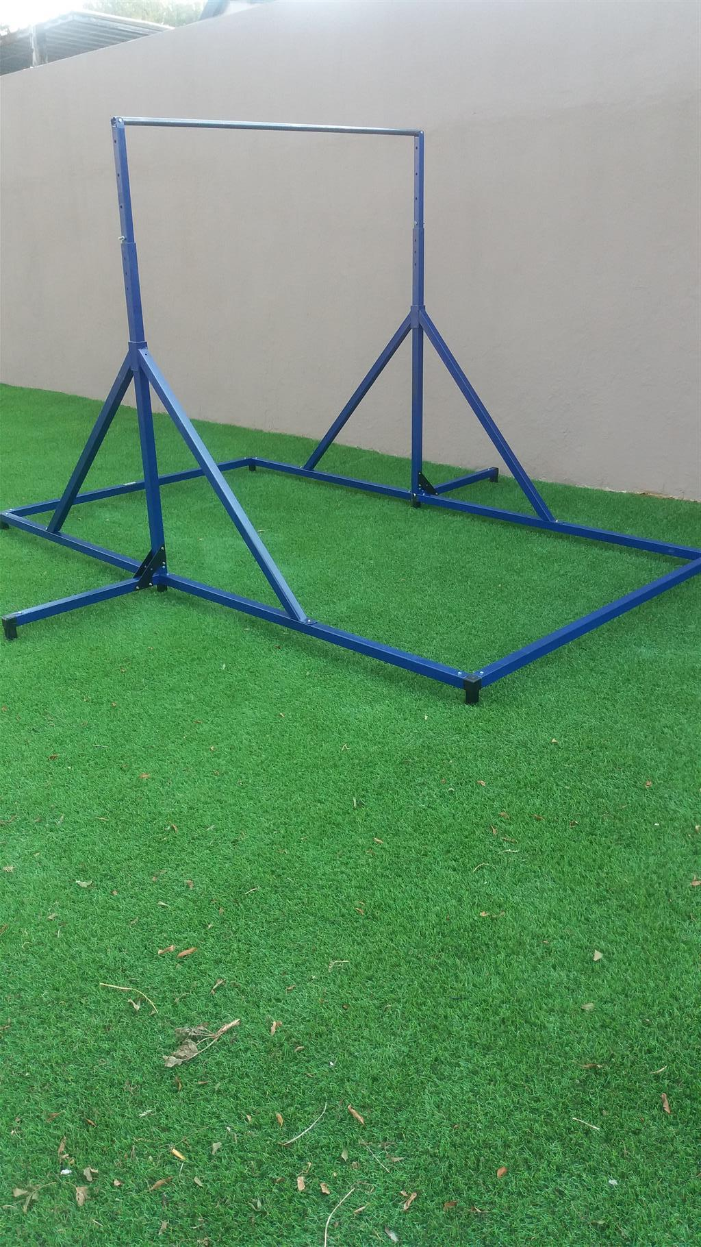 Gymnastic Practice Equipment for home use.