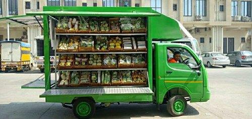 Rent a mobile spaza shop