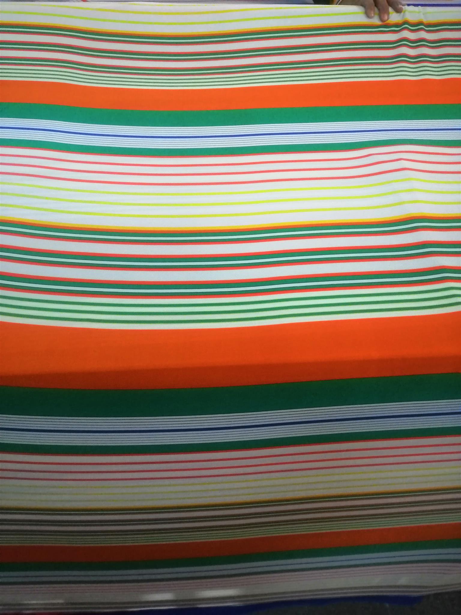 Printed stretch fabric