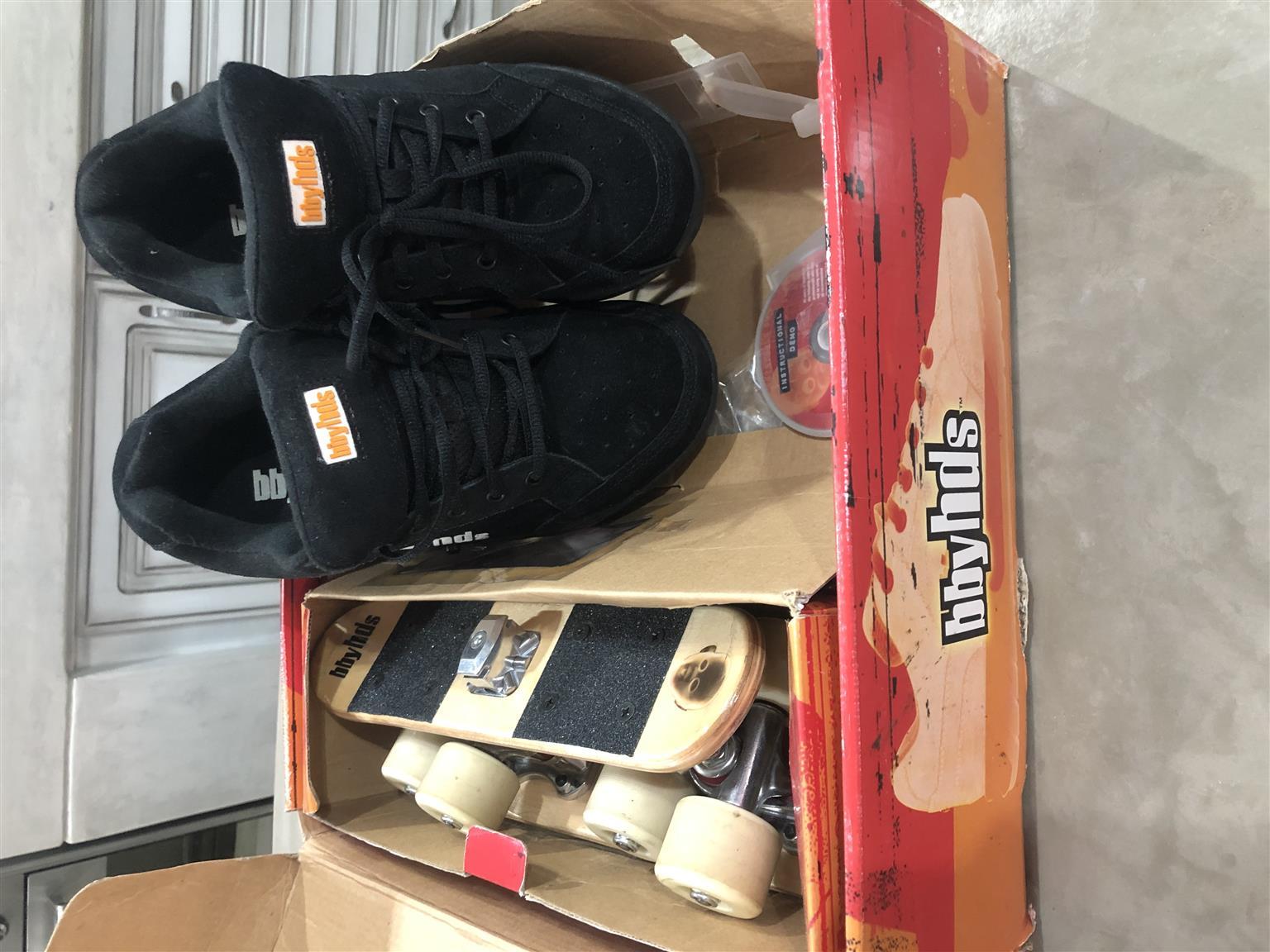 Quality sneaker shoe skates