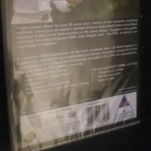 Ultra Simple Golf with Muss and Don Gammon instructional DVD